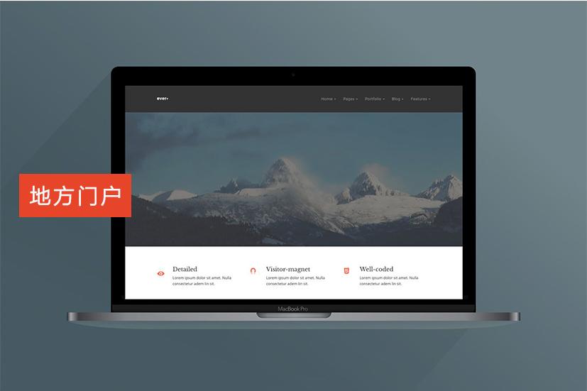 地方门户网站建设